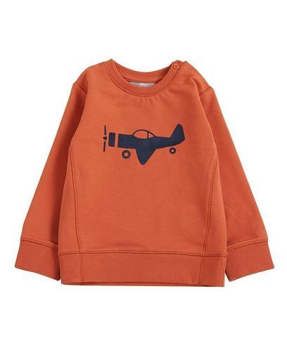 Rostbraunes Sweatshirt
